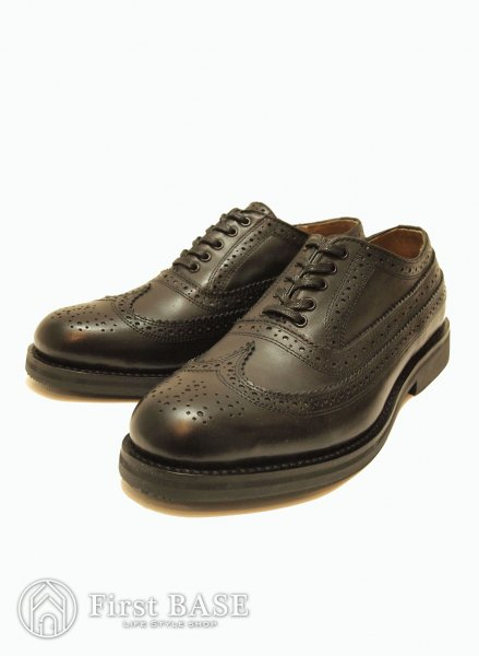 mythography BALMORAL WINGTIP BLACK