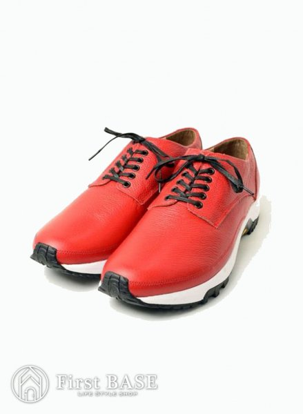 mythography PLAIN TOE SNEAKERS RED