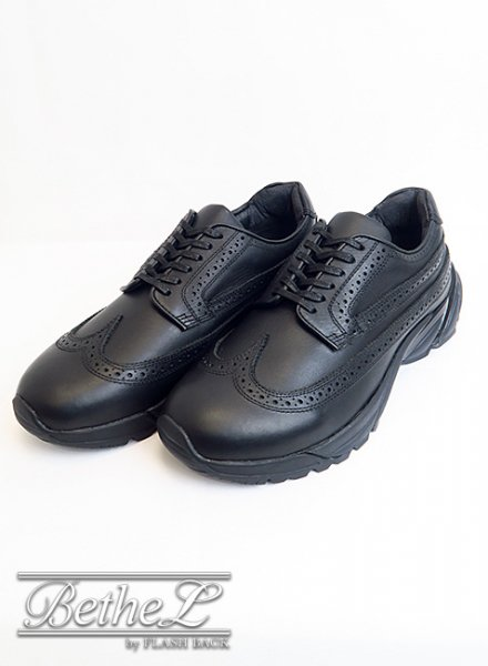 mythography/ミソグラフィー WINGTIP SNEAKERS BLACK