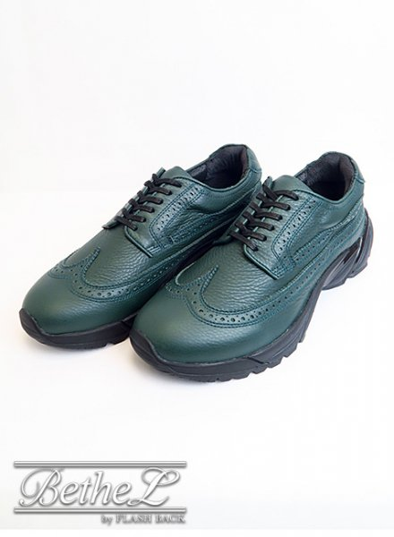 mythography/ミソグラフィー WINGTIP SNEAKERS GREEN