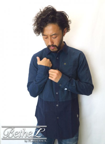 SCOTCH&SODA/スコッチ&ソーダ PANEL CONSTRUCTED SHIRT