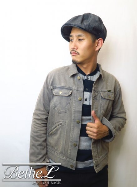 Wrangler/ラングラー JACKET DENIM 376 GRAY