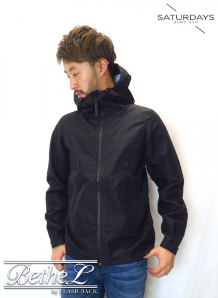 SATURDAYS NEW YORK CITY/サタデーズニューヨークシティ Ridge Jacket BLACK