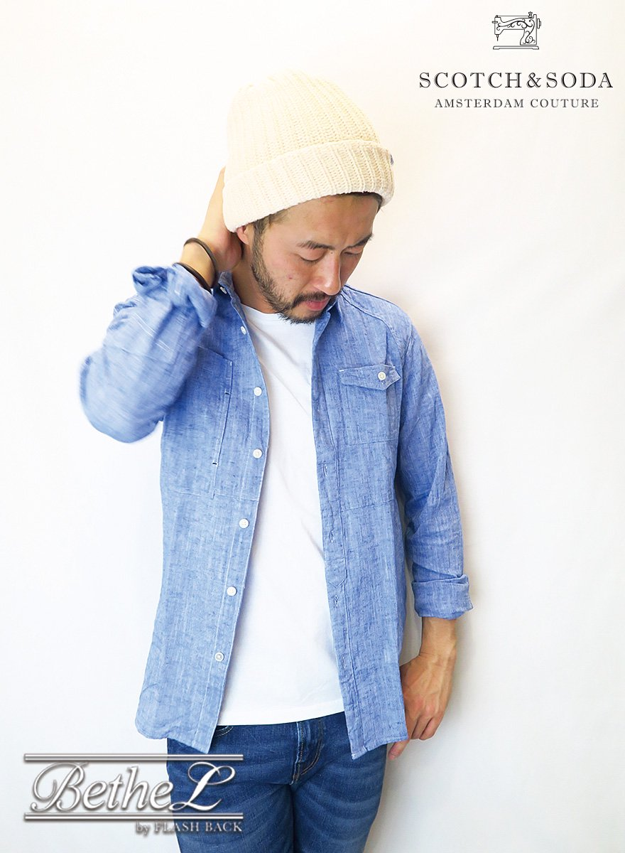 SCOTCH&SODA/スコッチ&ソーダ SCOTCH DENIM SHIRT INDIGO