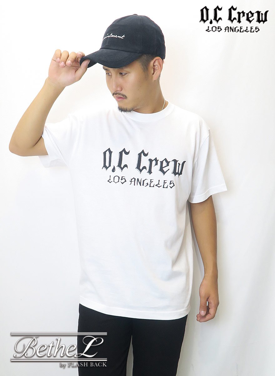 O.C CREW/オーシークルー  BIG LOGO OVER TEE WHITE