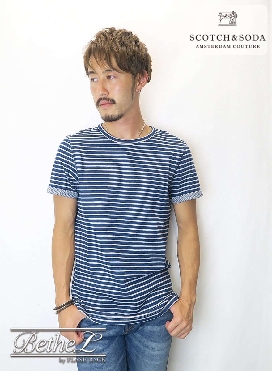 <img class='new_mark_img1' src='//img.shop-pro.jp/img/new/icons14.gif' style='border:none;display:inline;margin:0px;padding:0px;width:auto;' />SCOTCH&SODA/スコッチ&ソーダ TEE IN DOUBLE FACE