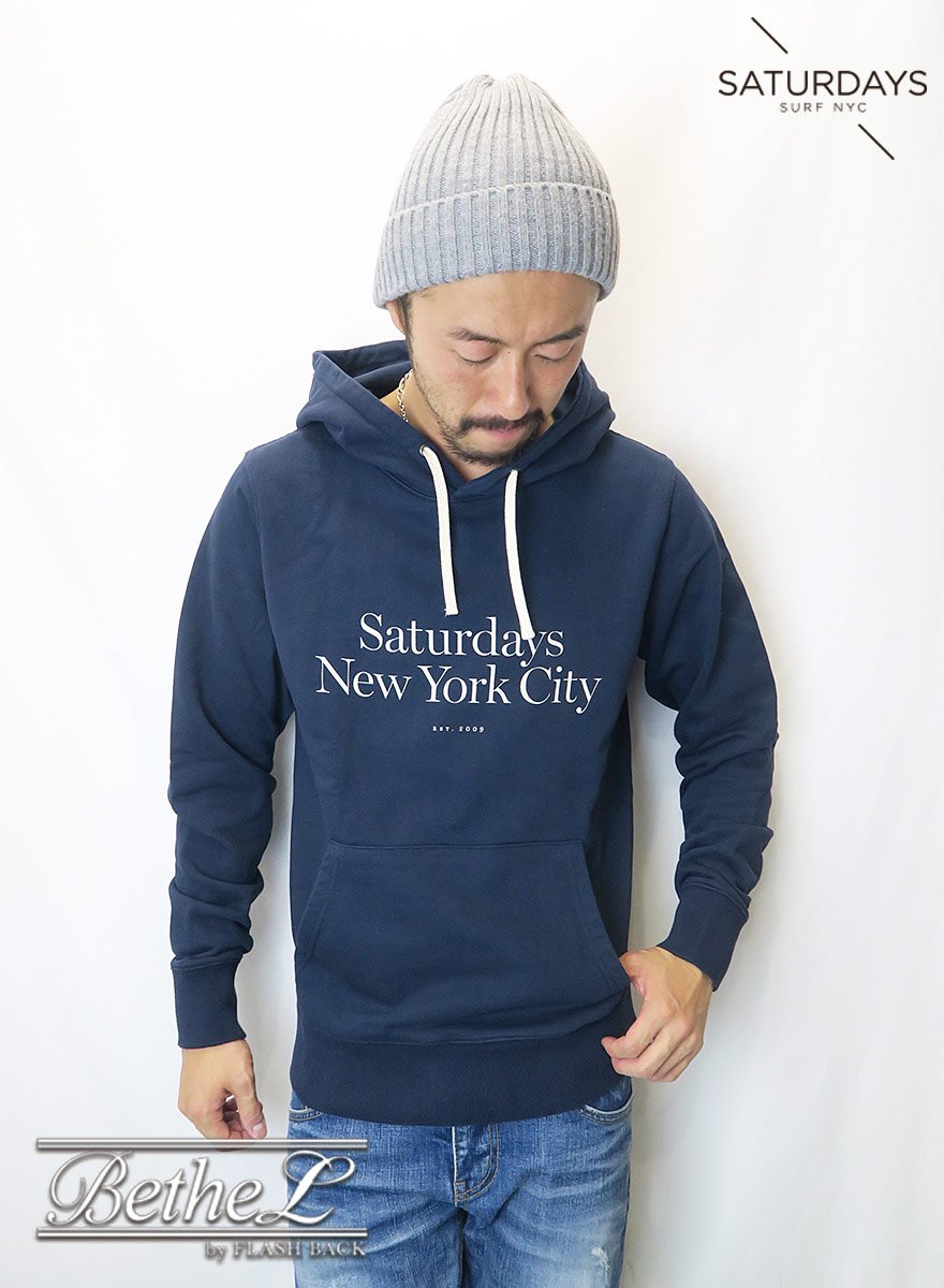 SATURDAYS NEW YORK CITY/サタデーズニューヨークシティ DITCH MILLER STANDARD HOODIE MIDNIGHT