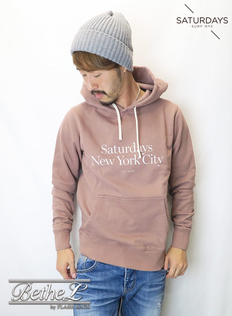 SATURDAYS NEW YORK CITY/サタデーズニューヨークシティ DITCH MILLER STANDARD HOODIE COPPER