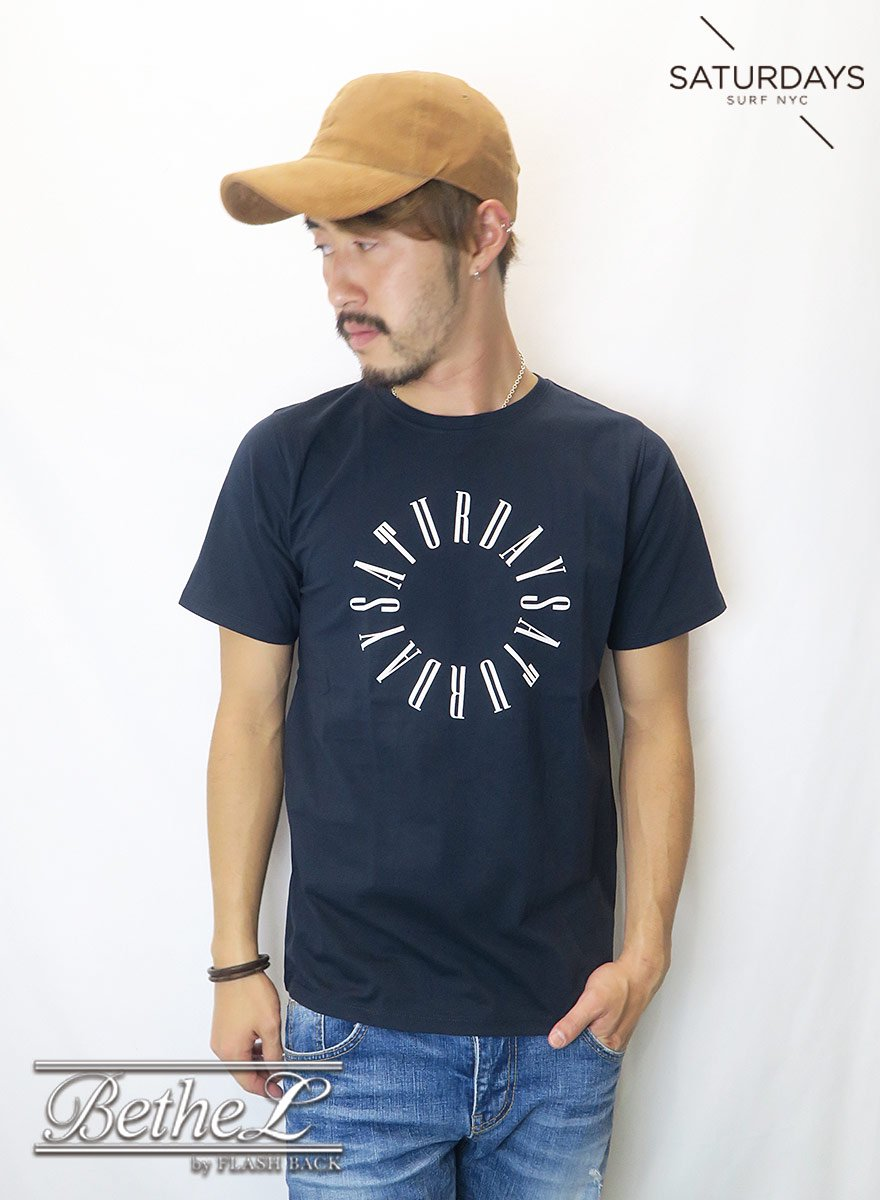 SATURDAYS NEW YORK CITY/サタデーズニューヨークシティ CONDENSED CIRCLE S/S TEE MIDNIGHT