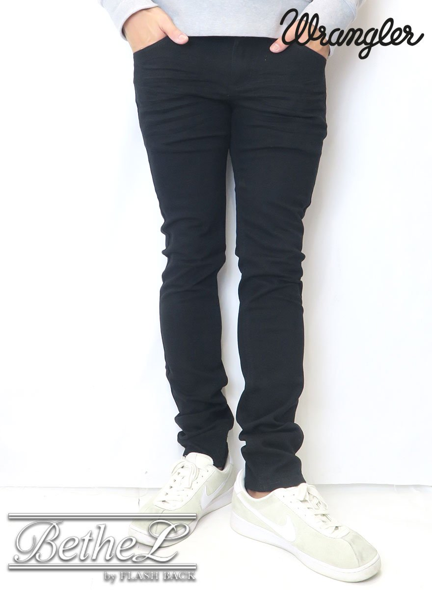 Wrangler/ラングラー SKINNY DENIM PANTS  BLACK