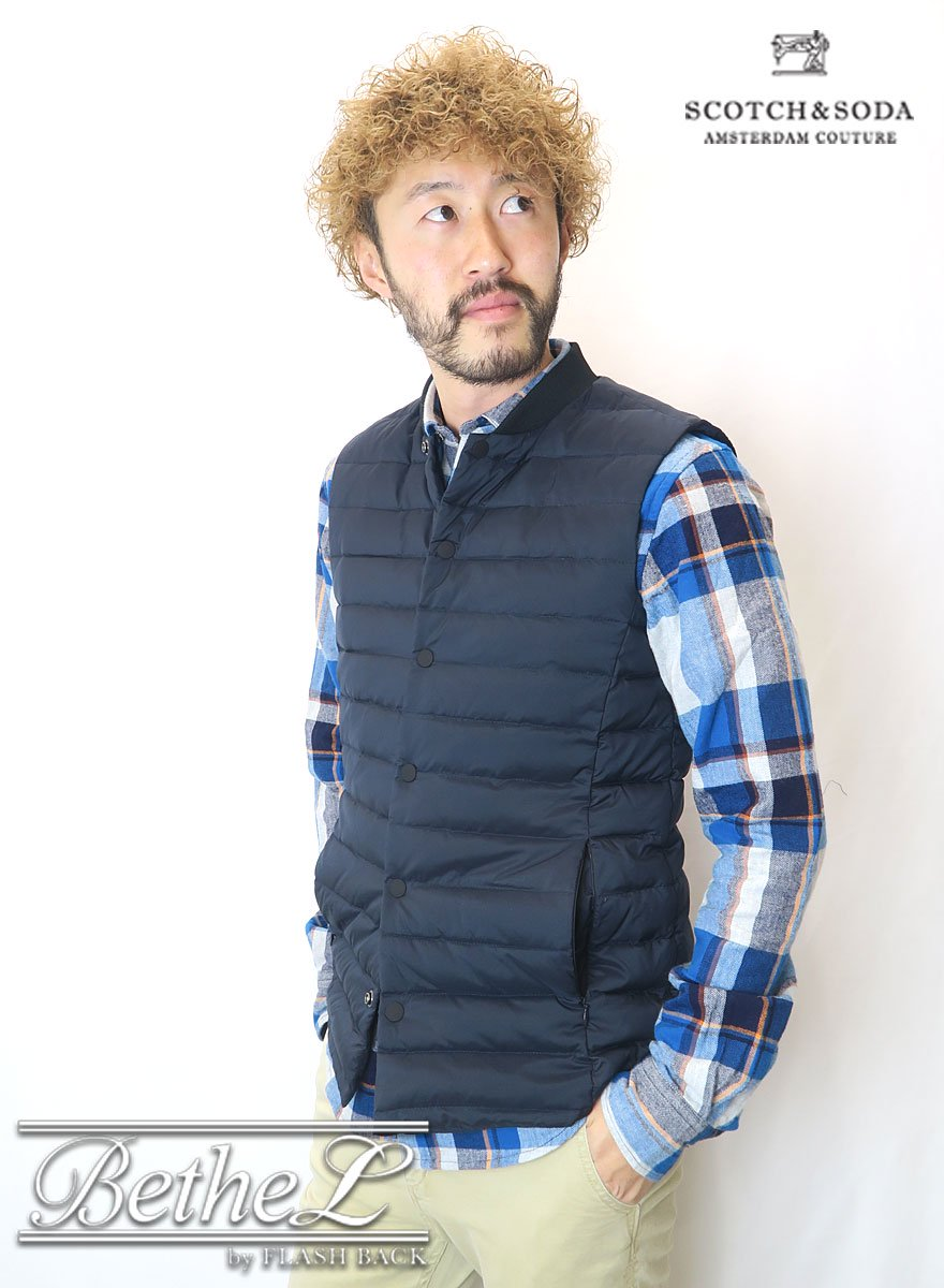 SCOTCH&SODA/スコッチ&ソーダ LIGHT BODY WARMER