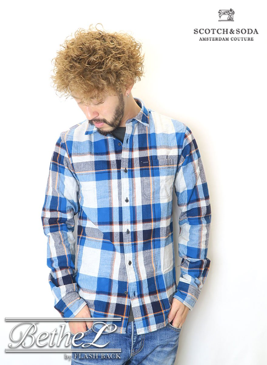 SCOTCH&SODA/スコッチ&ソーダ Flannel Checked shirt