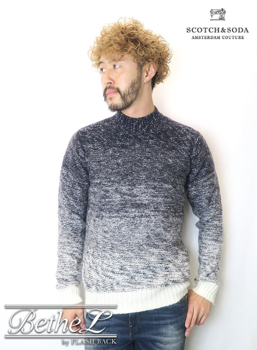 SCOTCH&SODA/スコッチ&ソーダ  Chunky Crewneck Knit Sweater