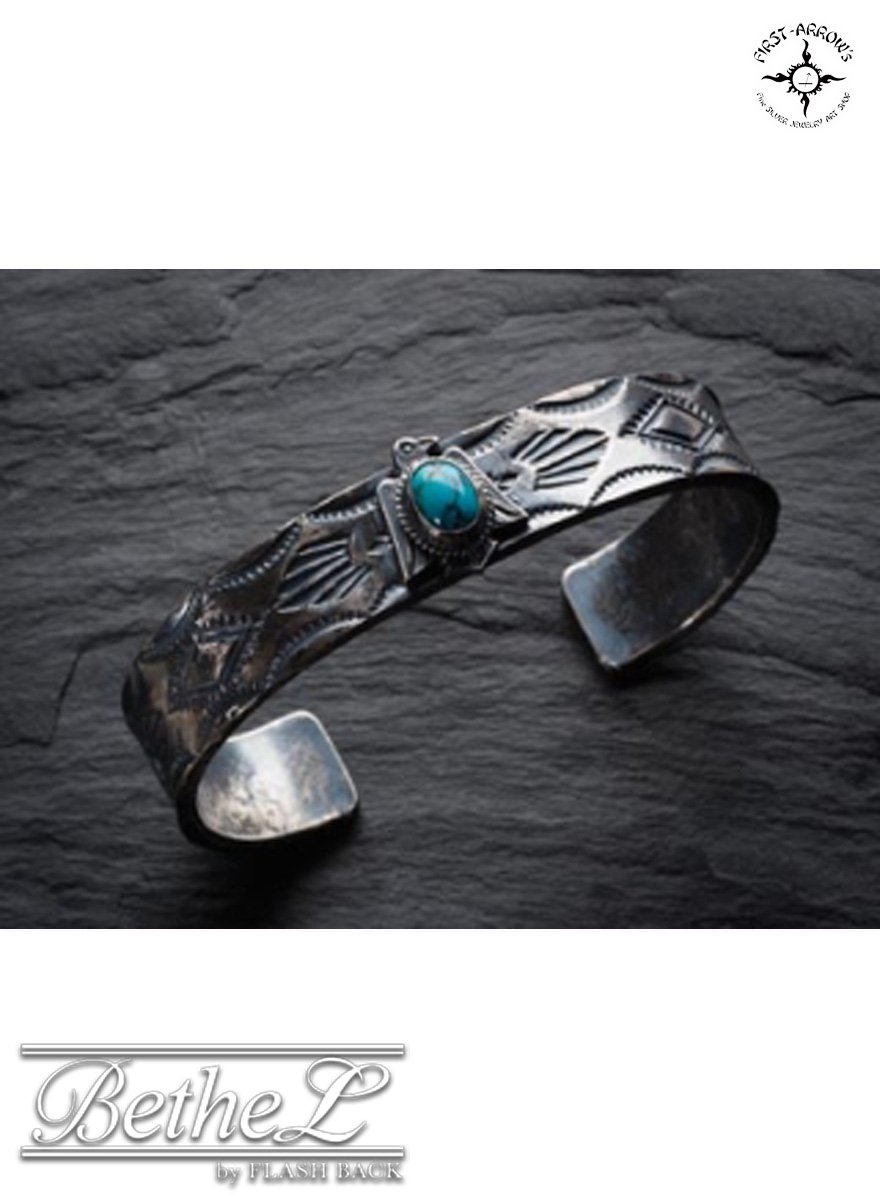 FIRST ARROW'S / ファーストアローズ TURQUOISE V・F・S・W THUNDER BIRD BANGLE