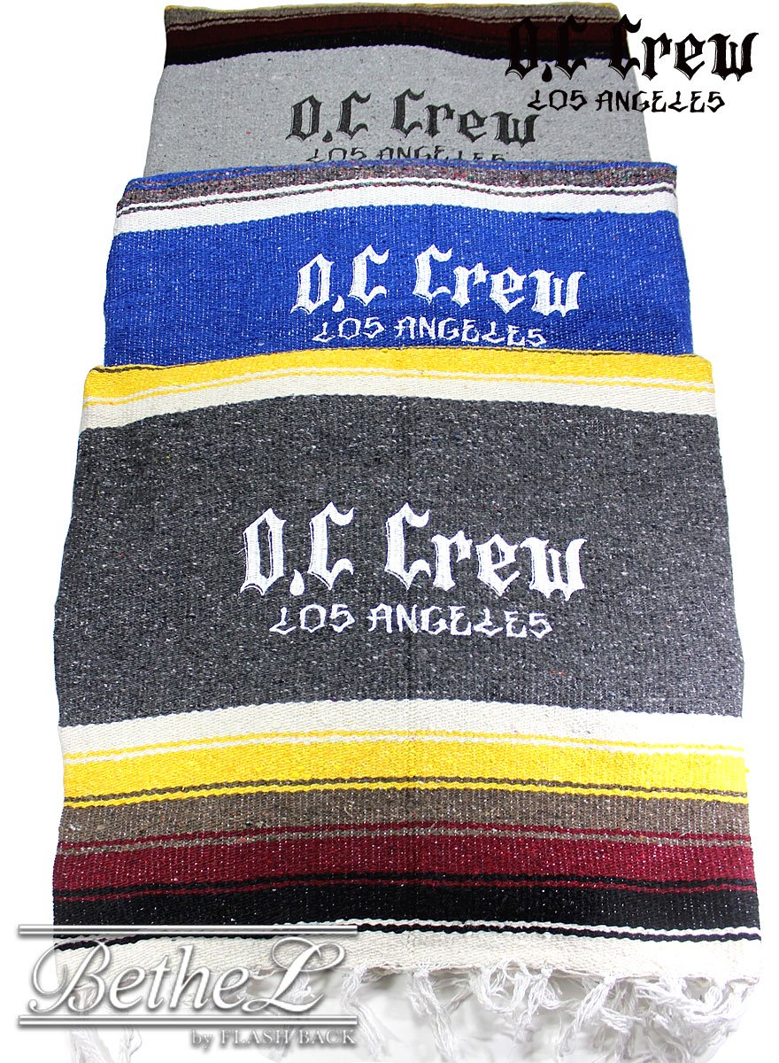 O.C CREW/オーシークルー BIG LOGO MEXICAN BLANKET