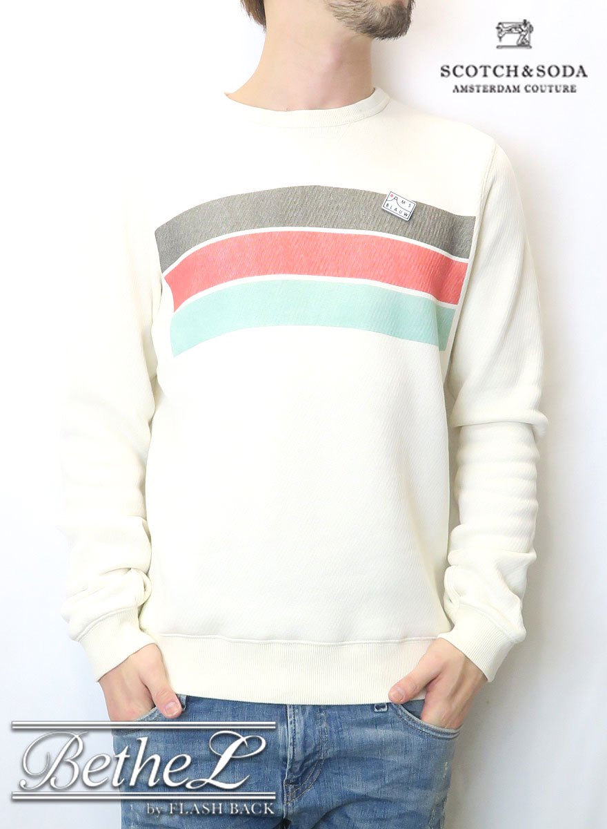 SCOTCH&SODA/スコッチ&ソーダ ARTWORK SWEATER