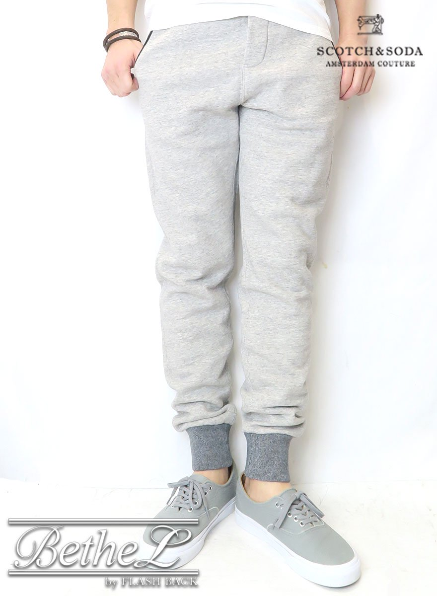 SCOTCH&SODA/スコッチ&ソーダ ZIP DETAILED SWEAT PANTS
