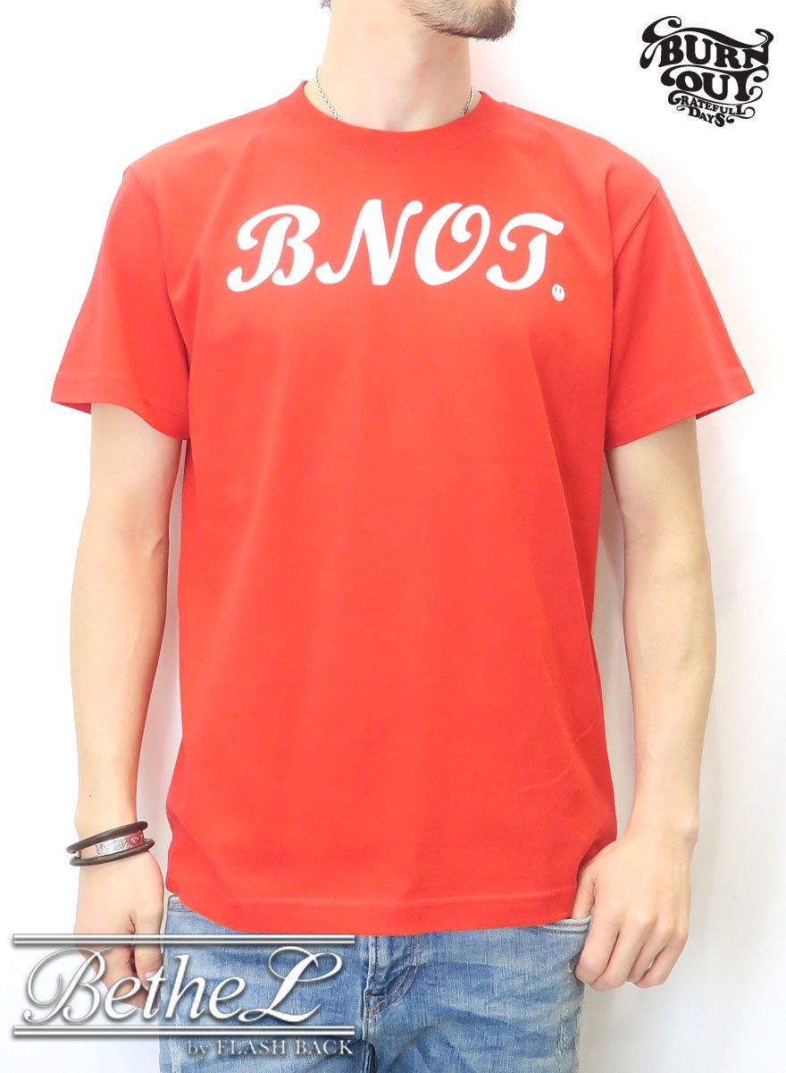 Burnout/バーンアウト WA-DO T-SHIRT RED