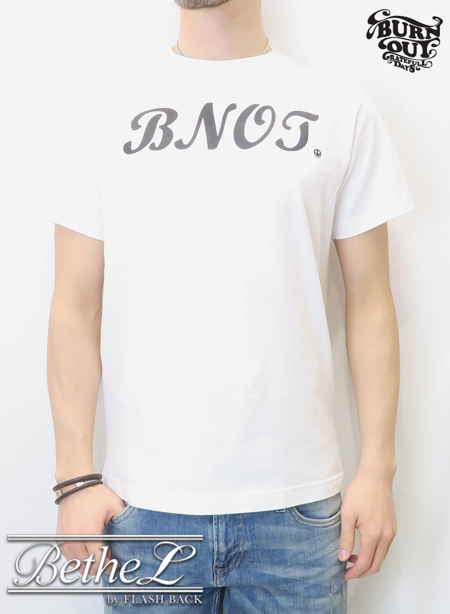 Burnout/バーンアウト WA-DO T-SHIRT WHITE