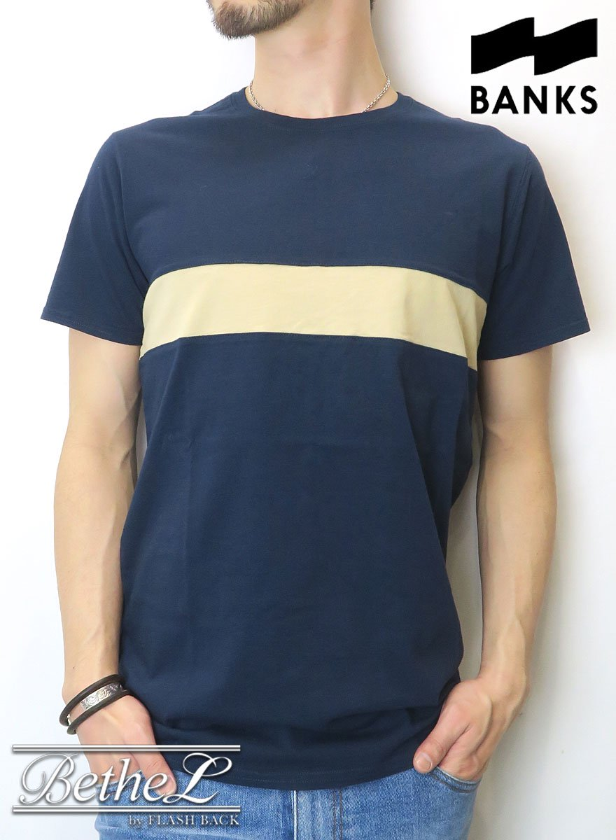 BANKS JOURNAL/バンクスジャーナル COSTA TEE SHIRT DIRTY DENIM
