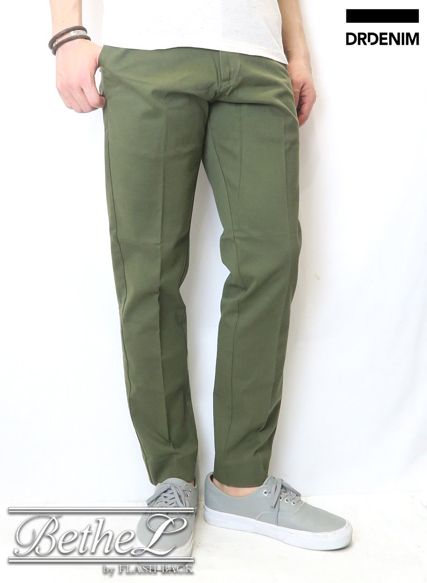 DR.DENIM/ドクターデニム LEDGER ARMY GREEN