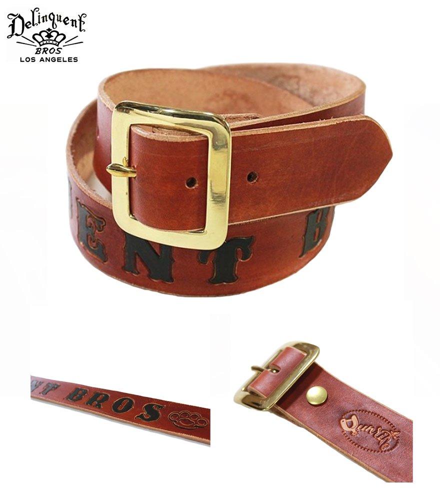 Delinquent Bros/デリンクエント ブロス  B.K Custom Belt