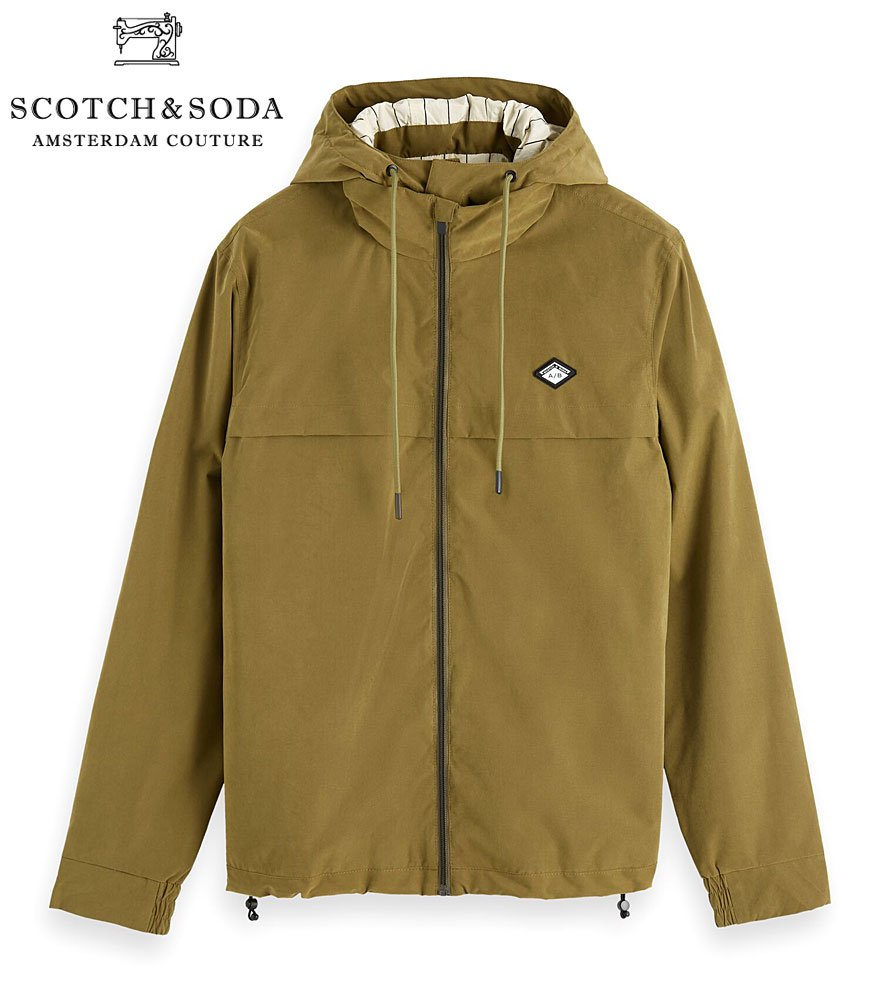 SCOTCH&SODA/スコッチ&ソーダ ナイロンジャケット Light weight jacket with peach touch  282-11808 【153453】