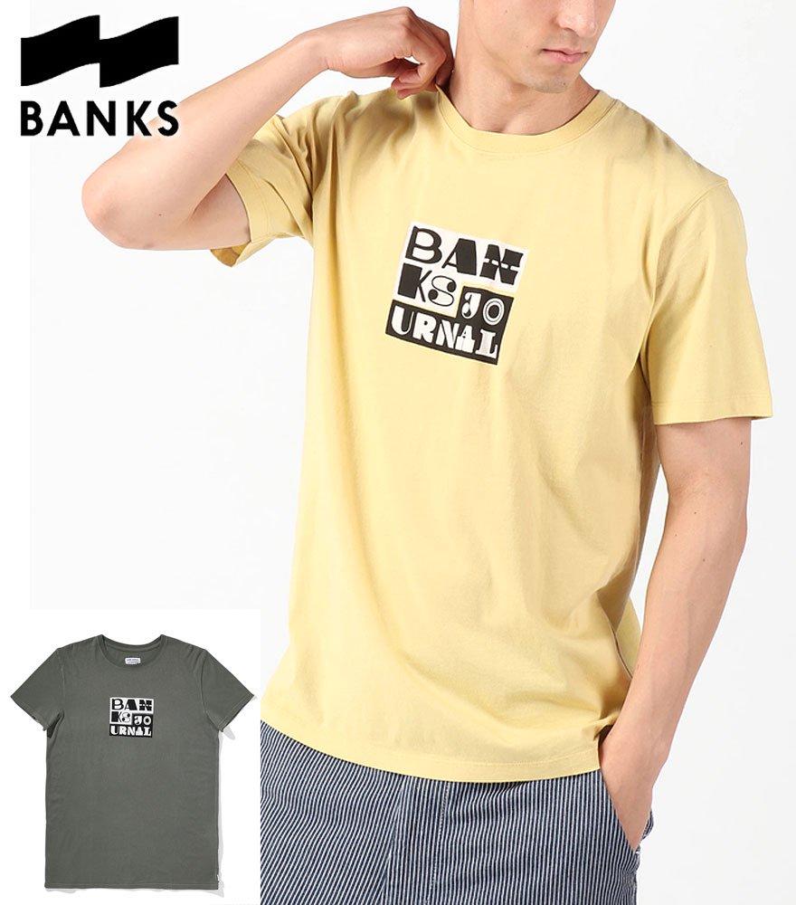 BANKS JOURNAL/バンクスジャーナル  ALPHA TEE SHIRT 全2色