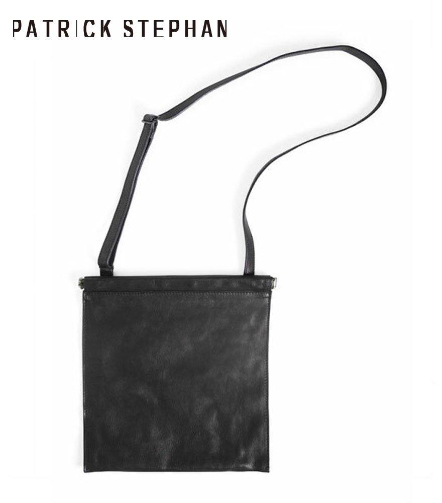 PATRICK STEPHAN/パトリックステファン レザーショルダーバッグ/サコッシュ Leather shoulder bag 'spring closure'