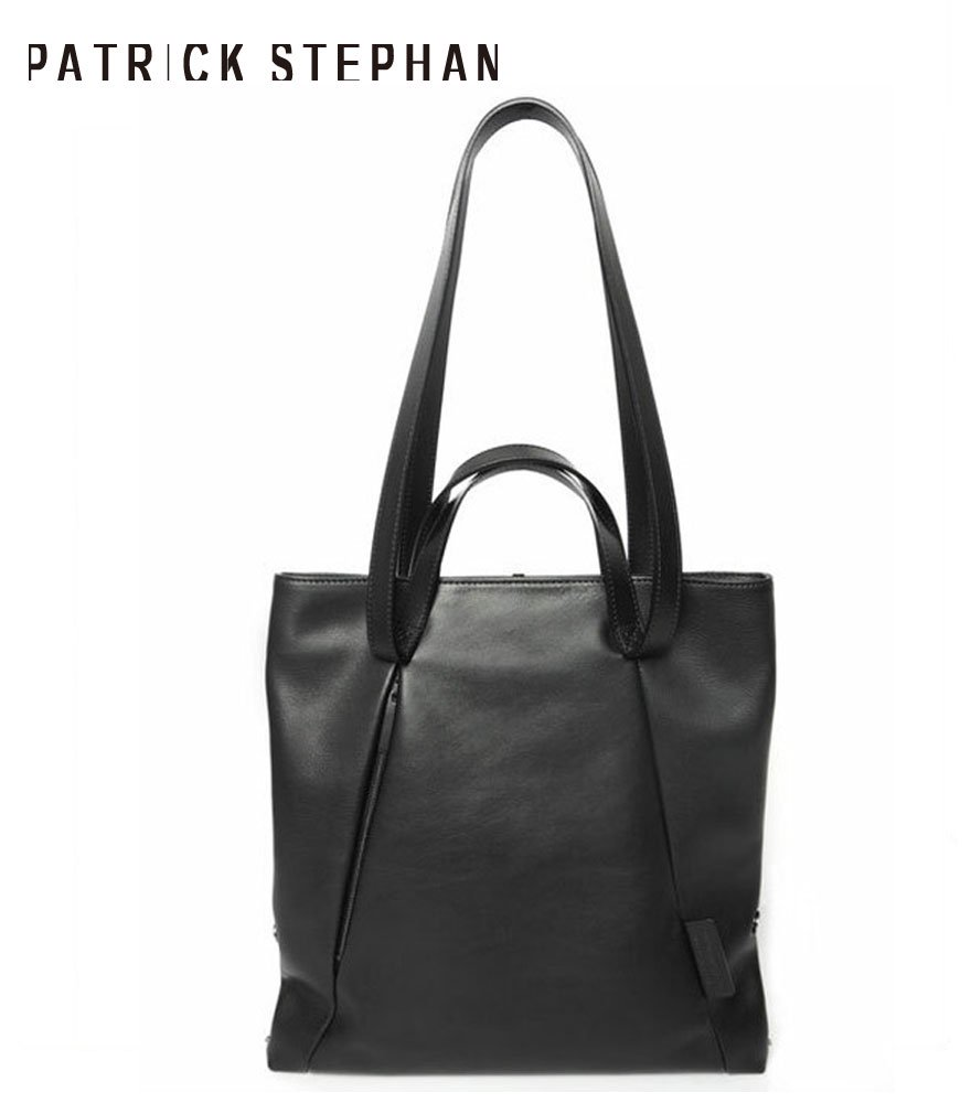 PATRICK STEPHAN/パトリックステファン レザートートバッグ Leather small tote 'loop handle'