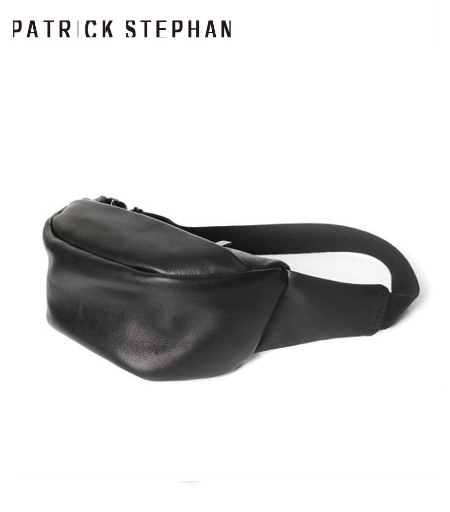 PATRICK STEPHAN/パトリックステファン ボディバッグ Leather small waist bag 'demi cercle'