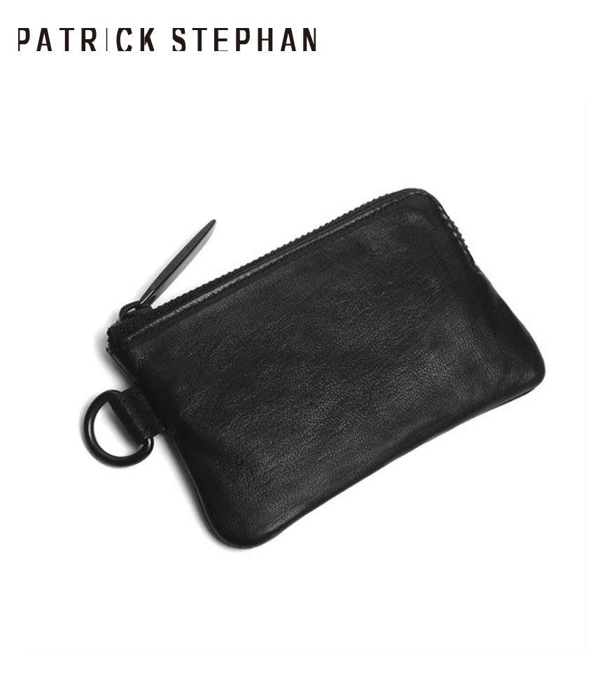 PATRICK STEPHAN/パトリックステファン コインケース Leather coin case 'minimal' shine