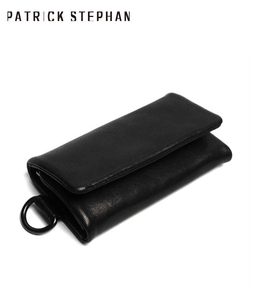 PATRICK STEPHAN/パトリックステファン キーケース Leather key case 'minimal' shine