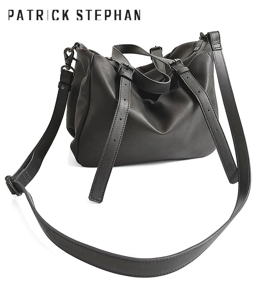 PATRICK STEPHAN/パトリックステファン ショルダーバッグ Leather bag 'petit-chiffon' 20