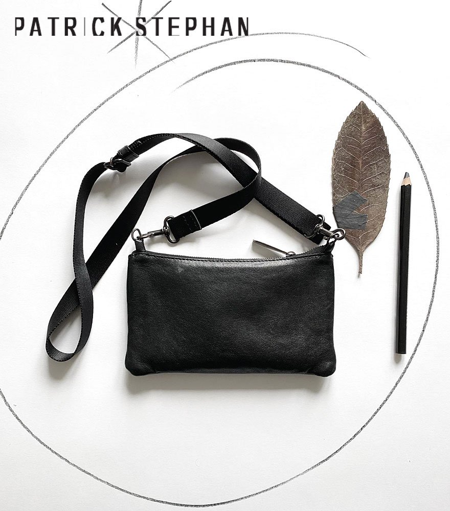PATRICK STEPHAN/パトリックステファン レザーサコッシュ Leather minimini sacoche 'shine'