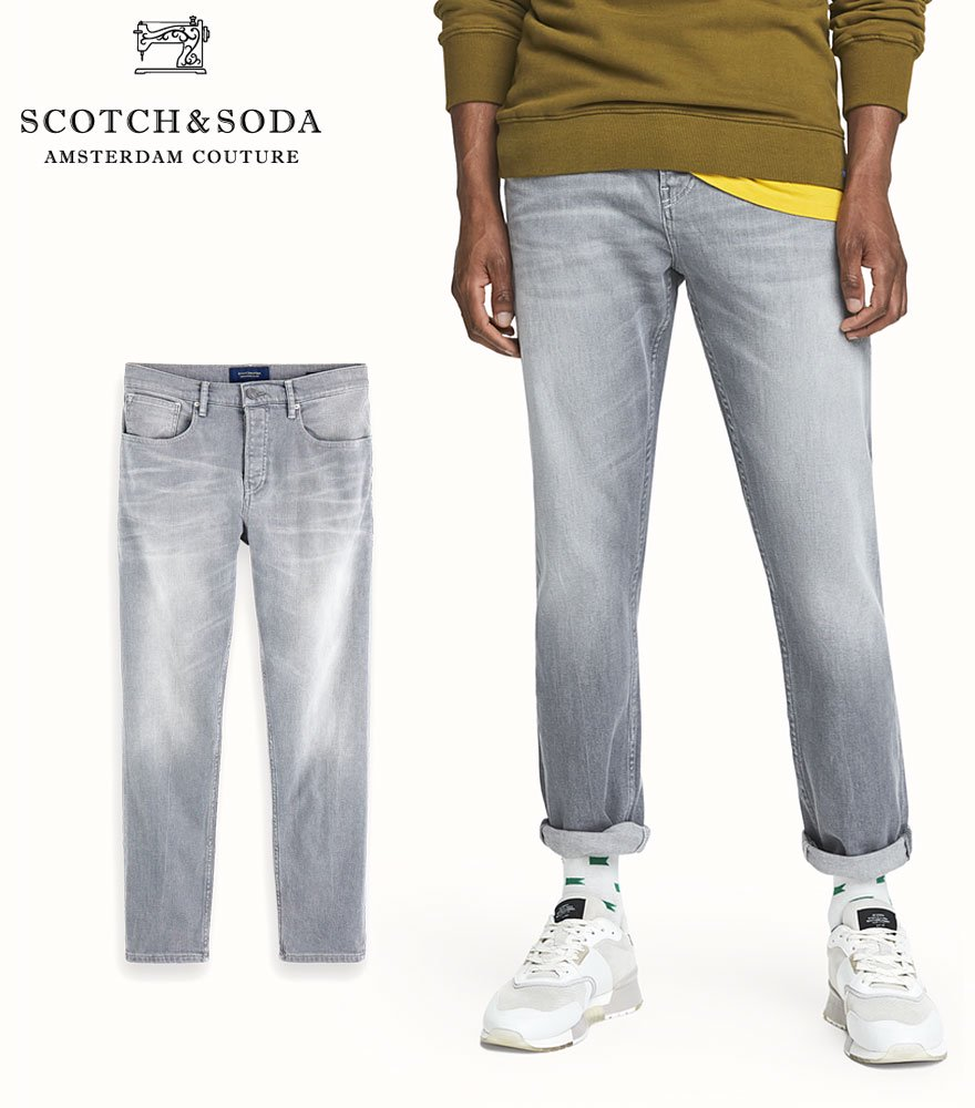 SCOTCH&SODA/スコッチ&ソーダ ジーンズ The Norm - Stone And Sand