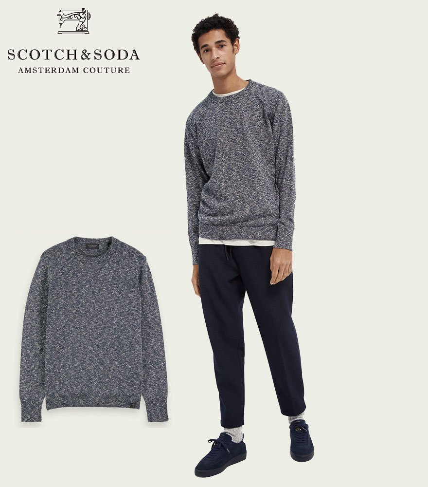 <img class='new_mark_img1' src='https://img.shop-pro.jp/img/new/icons14.gif' style='border:none;display:inline;margin:0px;padding:0px;width:auto;' />SCOTCH&SODA/スコッチ&ソーダ グラデーションメランジニット 292-25435 【158635】