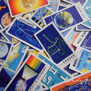 【 Andart 】Tea Card  / OUT INTO SPACE / 1958 / Complete Set of 50