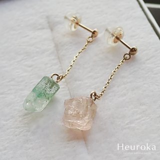 <img class='new_mark_img1' src='//img.shop-pro.jp/img/new/icons5.gif' style='border:none;display:inline;margin:0px;padding:0px;width:auto;' />【 Heuroka 】『 桜 -sakura- 』 / Pierce / K10YG