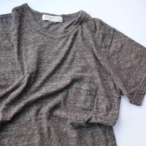 SARAXJIJI ラフィーガーゼメンズTシャツ