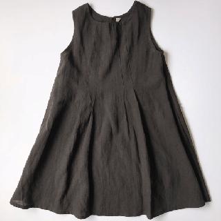 ヤオイタカスミ ノースリーブワンピース(110サイズ)