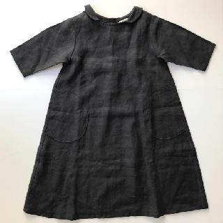 ヤオイタカスミ 丸衿ワンピース(110サイズ)