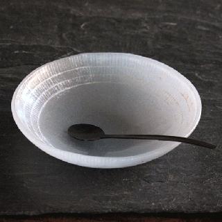 オオタ硝子研究室 ブルーグレー小皿