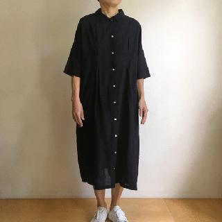 YAMMA カディワンピース(黒)