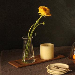 津村里佳 vase short (クリア)