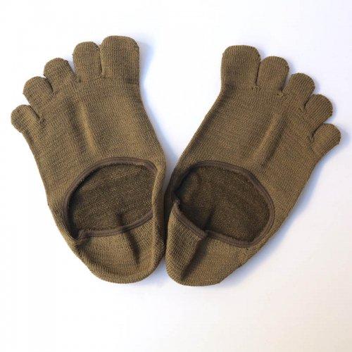 Glück und Gute  五本指「足の肌着」絹と綿 フットカバー