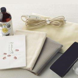 ヒマシ油湿布7点セット (ケーシー療法)