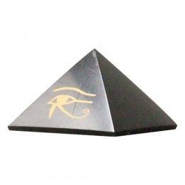 シュンガイト・ピラミッド 「ホルスの目」