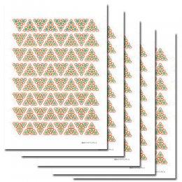DNAトライアングル6 小サイズ(5枚セット)