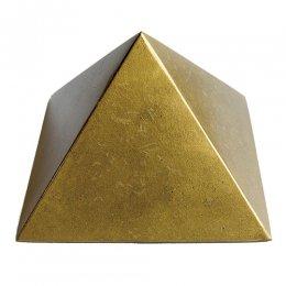 ピラミッドオブジェ(ゴールド)